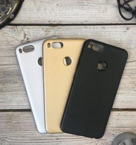 Чехол и защитное стекло для Xiaomi Mi 5X/Mi A1