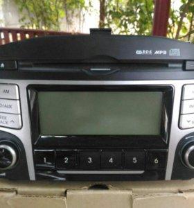 Штатная магнитола Hyundai IX35
