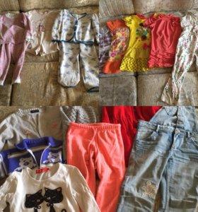 Одежда: Юбка, джинсы, футболка, платье, джемпер