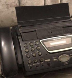 Факс Panasonik KX-FT72Ru