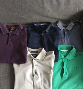 5 поло Adidas, Hayas, Jules, Adidas Clima+джинсы