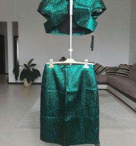 Костюм: юбка и болеро