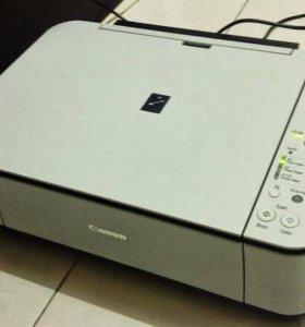 Принтер сканер canon