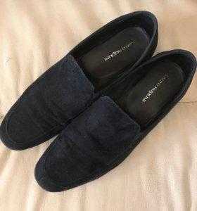 Мужские туфли темно-синего цвета,Carlo Pazolini