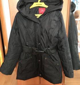 Пуховик куртка евро зима