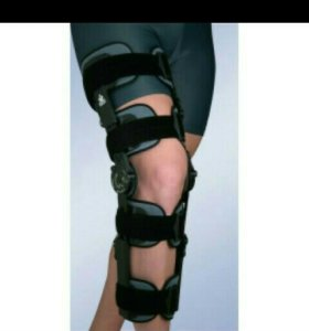 Ортез коленный с регулируемым шарниром.