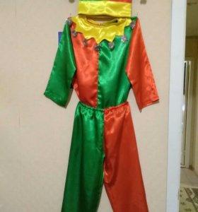 Новогодний костюм на 6-8 лет, ручной работы