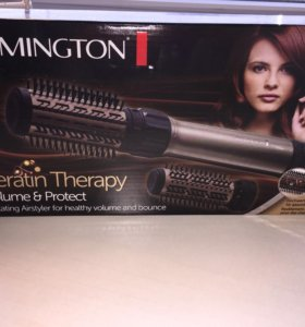 Фен- щетка Remington keratin therapy