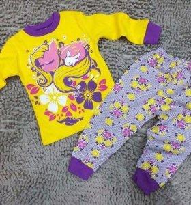 Новые пижамы на девочек