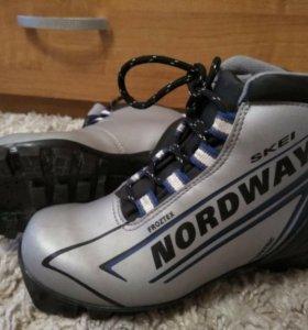 Лыжные ботинки, р.34