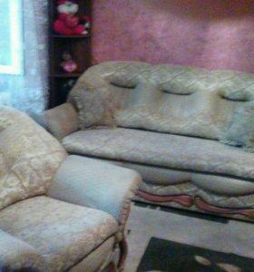 Продаётся мягкая мебель.