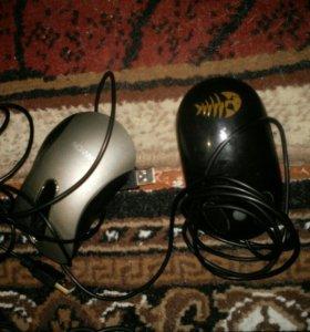 Отдам мышки,монитор, клавиатуру