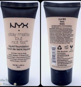 Тональный крем NYX Stay Matte But Not Flat