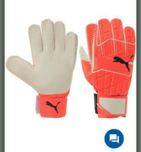 Пропали перчатки вратарские Пума оранжевые