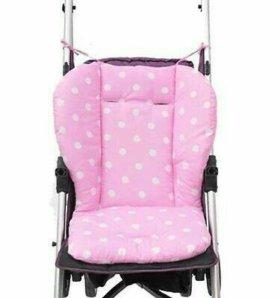 Новый матрасик в коляску, стульчик для кормления
