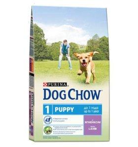 Сухие корма для собак :'Биско',Дог Чау','Про План