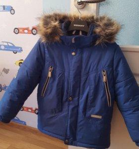 Зимняя куртка Kerry на мальчика рост 110 (+6)