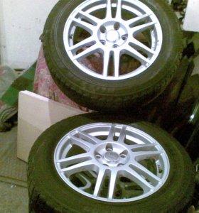 комплект шин на литье