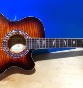 Новая гитара с вырезом.