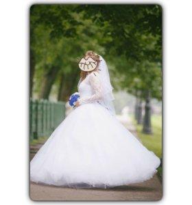 Свадебное платье 42-46.
