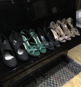 Туфли женские,босоножки(5 пар)