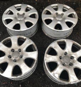 Оригинальные диски Audi Q7