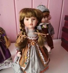 Новые фарфоровые куклы.фирма hobby&work.