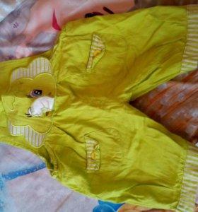 Дет.вещи. платье 200.песочник 100