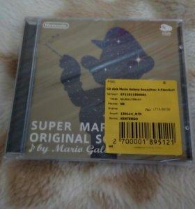 Super Mario Galaxy Official Soundtrack (запечатан)