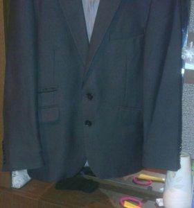 Пиджак подростковый с рубашкой.