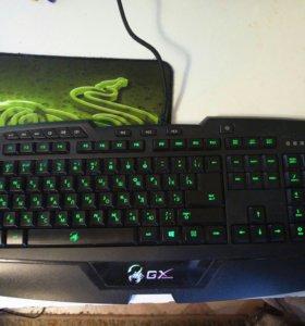 Игровая клавиатура GX gaming