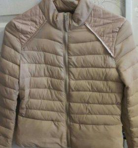 Пудровая куртка