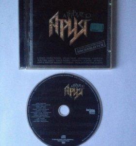 """Компакт-диск """"A tribute to Ария"""""""