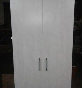 Шкаф двухстворчатый с двумя ящиками