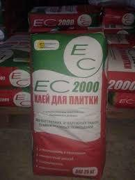Клей для плитки Ес 2000