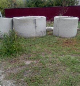 Кольца железно бетоные