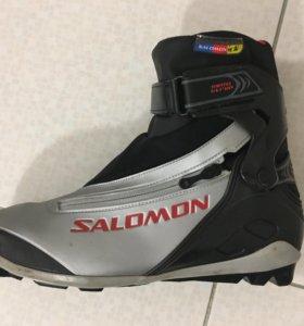 Лыжные ботинки 44 р.