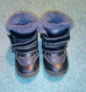 Ботинки зимние 24размер