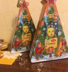 Новогодний набор конфет Аленка
