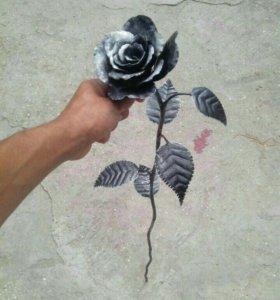 Розы ковка под заказ и в наличии