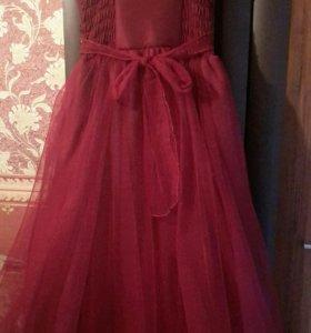 Платье вечернее для девочки 10-13 лет