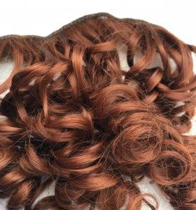 Термо трессы, волосы на заколке