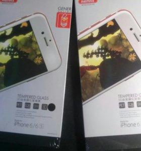 Стекло защитное 3D для Iphone 6 6s