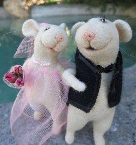 Крыса для вязки