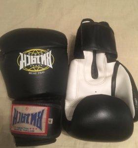 Перчатки для тайского бокса 16 унций