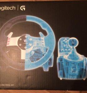 Игровой руль logitech g27
