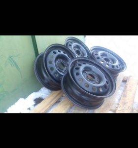 Штампованные диски ford