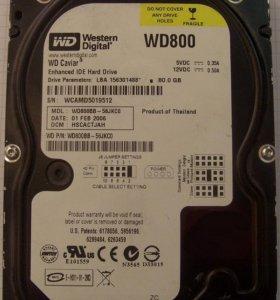 WD800BB и WD80JB