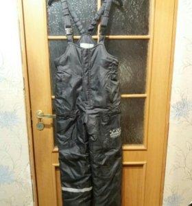 Зимние штаны (полукомбинезон)