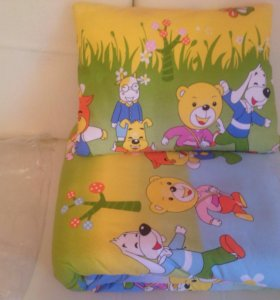 Набор детский (одеяло+подушка+постельное белье)